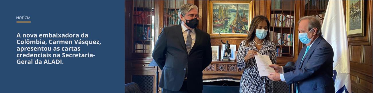 Nova embaixadora da Colômbia
