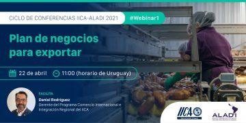 Ciclo de conferencias ALADI - IICA  2021